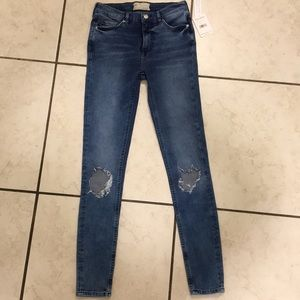 **NWT** Free People Busted Knee Jeans size 26
